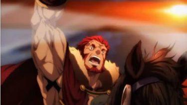 Fate/Zero 第23話 「最果ての海」 感想 ギルガメッシュVSイスカンダル!