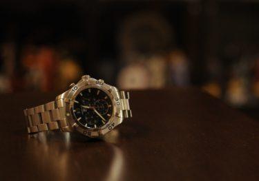 つけの領収書だぜ。承太郎愛用時計メーカー、タグホイヤー「アクアレーサー」をレビューしよう