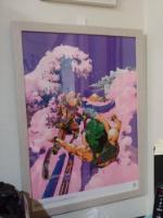 壁美人でジョジョの複製原画とかパラリンピックポスターとか飾れ